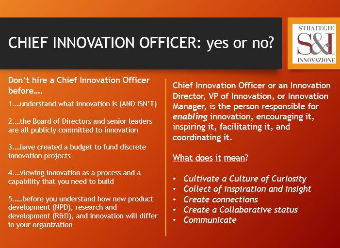chief innovation officer